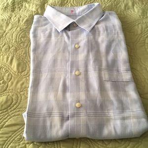 Tommy Bahama size 16.5 %100 washable cotton shirt